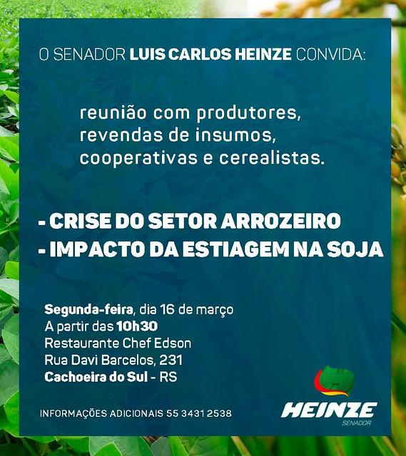 16/03/2020 Reunião Produtores Cachoeira do Sul