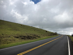 Haleakala Highway & clouds