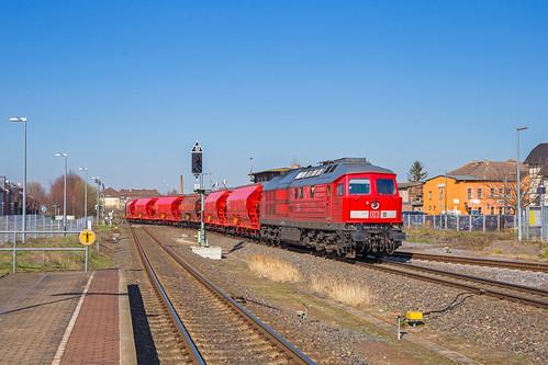 DB Cargo 233 452, Güsten (D)