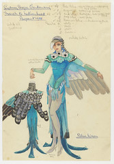 Blue Wren: Sydney Sesqui-Centenary 'March to Nationhood' Pageant 1938