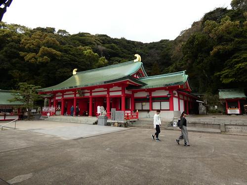Temple d'Akama à Shimonoseki