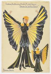 Bower Bird: Sydney Sesqui-Centenary 'March to Nationhood' Pageant 1938