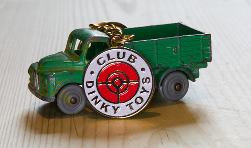A Dinky truck and a Dinky key chain  IMG_2525
