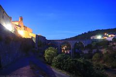 FR11 5730 L'église Saint-Étienne & le Pont-Viaduc. Minerve, Hérault