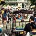 Tut tuk driver in Bangkok