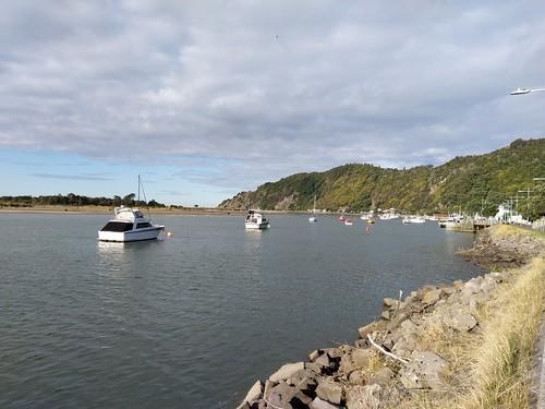 Boats on the Whakatane River
