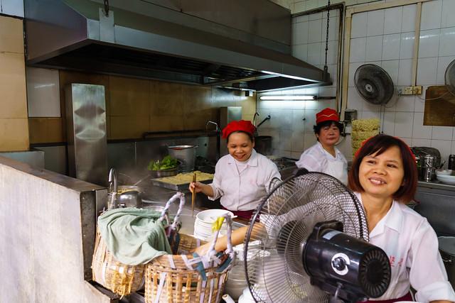 Noodle break at Jianji Restaurant