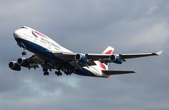 Boeing 747 - British Airways - G-CIVX