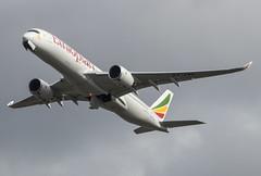 Airbus A350 - Ethiopian Airlines - ET-AWO