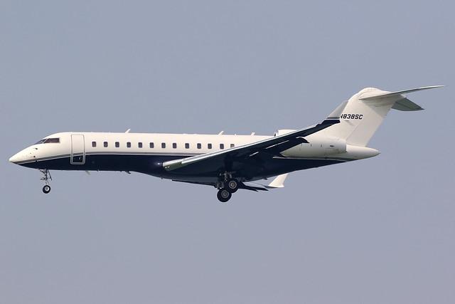Private   Bombardier Global Express   N838SC   Hong Kong International