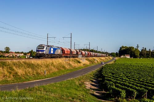 08 août 2019 E 4011 Train 60362 Port-la-Nouvelle -> Angoulême Barsac (33)