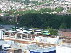 Unidentified Southern Class 171 DMU approaching Brighton station