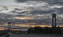 Belt parkway east  sunset