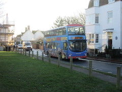 BJ63 UJP (Route 2) at The Green, Rottingdean