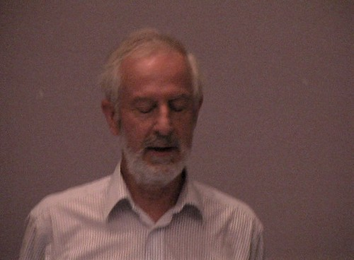 Richard Pankhurst at TDWG2001, Sydney, Australia