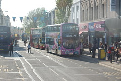 BJ11 XHV (Route 46) at Western Road, Brighton
