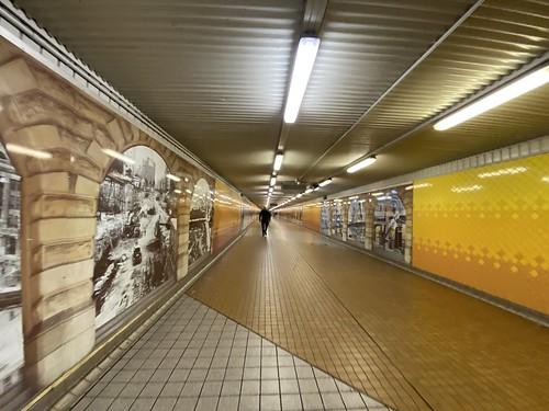 Empty Sydney Central Station