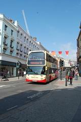 YN57 FYD (Route 50) at North Street, Brighton