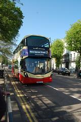 SK67 FJY (Route 7) at Old Steine, Brighton
