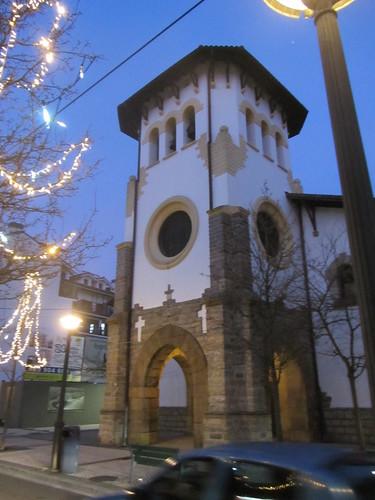 Santa Maria Magdalena eliza - Portu auzoa - Hondarribia