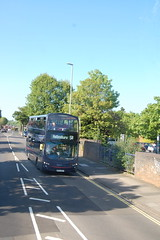 BF12 KXT (Route 5B) at Nevill Road, Hove