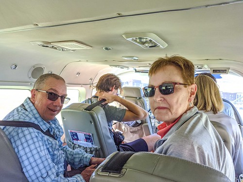 George & Lorrie Ready For the Flight-