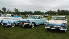 1957: Ford Thunderbird &  Mercury Monterey &  Ford Fairlane 500
