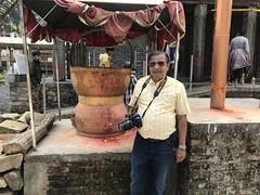 Kamandalu- the water pot associated with Hindu ascetics