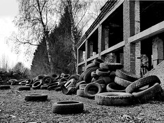 it is a lot of car tires