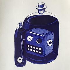 Dat Robot: 'Soaking'   Balpen, A4  #datrobot #robot #ai #robotics #LoveThyRobot #geek #nerdcore #fashion l #nerd #RobotLove #RobotTakeOver #RobotArt #joostmarcellis