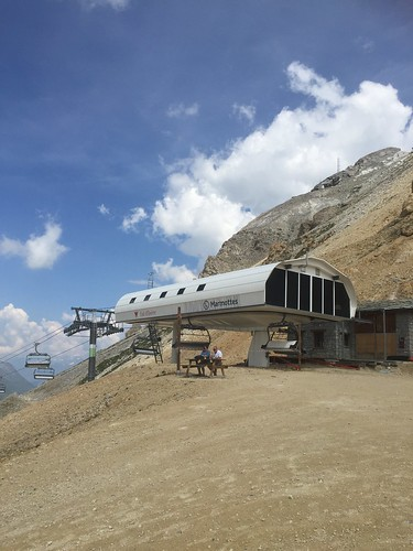 The Marmottes chairlift in Val d'Isère