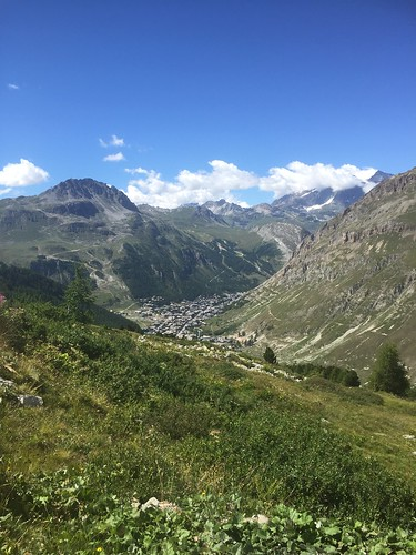 View of Val d'Isère