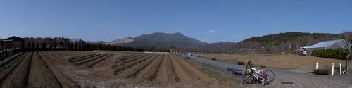 HananoMiyako Hills Panorama