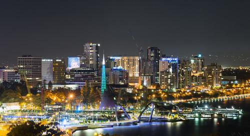 Perth: Elizabeth Quay view