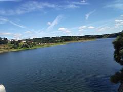 Río Miño. Embalse de Portomarín (Lugo).