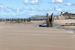 Côte d'Opale : Plage de la Dune d'Aval à Wissant