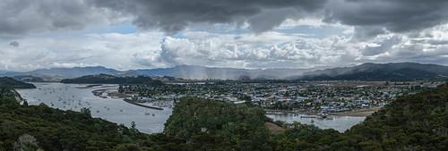 Panorama of Whitianga New Zealand