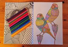 Confinement : coloriage..