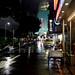 Taipei City on a riany night