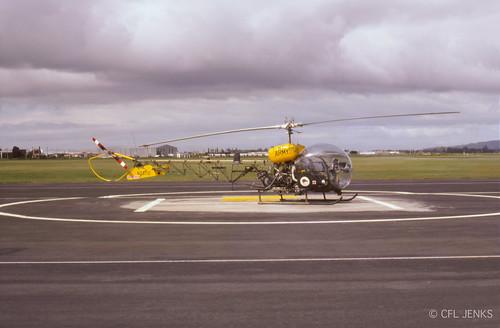 October 1978, RNZAF Sioux NZ3712, Wigram