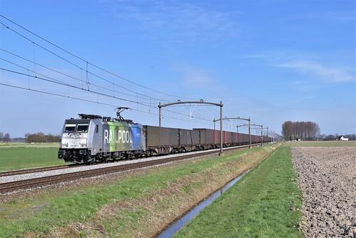 🇳🇱 Lineas 186 295 + trein 46253 te Zevenbergen