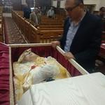 في جنازة الأم أمال الكاتدرائية 2  - تصوير الأستاذ مينا فؤاد