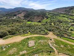 Vistas desde el Castillo de Cortegana. Cortegana (Huelva).