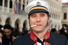 Corto Maltese at the Carnival of Venice in February 2020