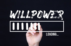 Handwriting Text Willpower Loading. Concept meaning  Forecasting the future event