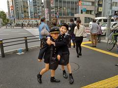 Colegiales en Tokio, Japón