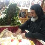 في جنازة الأم أمال الكاتدرائية  - تصوير الأستاذ مينا فؤاد