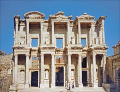 La bibliothèque de Celsus à Éphèse (Turquie)