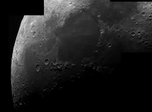 Moon mosaic , Mare Serinitatis area