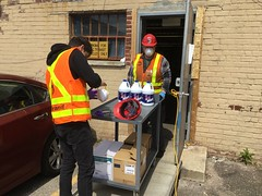 MTA Distributes N95 Masks and Other PPE to Frontline Employees